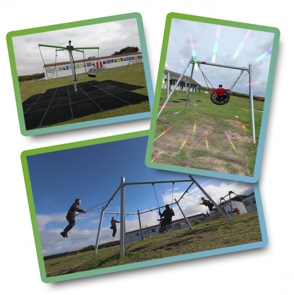 New Play Equipment Funded by The Cotton Industry War Memorial Trust